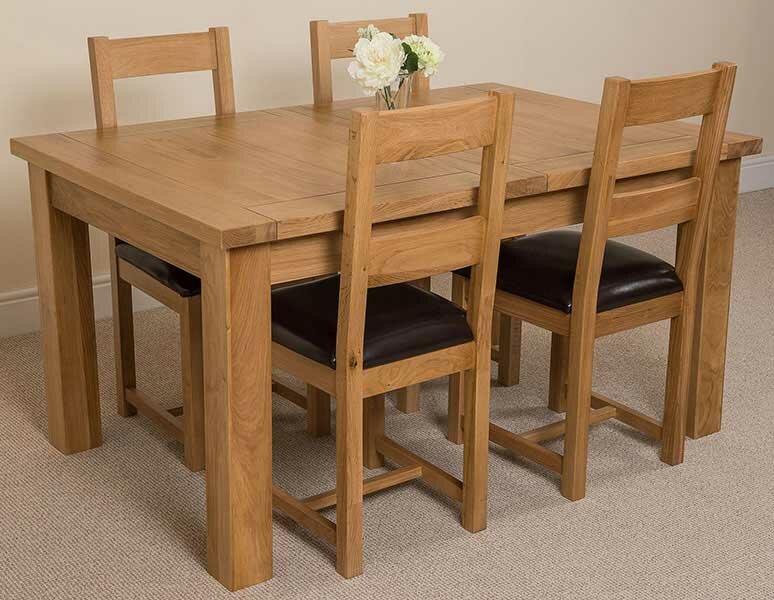 red barrel studio essgruppe skookum mit ausziehbarem tisch und 4 st hlen bewertungen. Black Bedroom Furniture Sets. Home Design Ideas