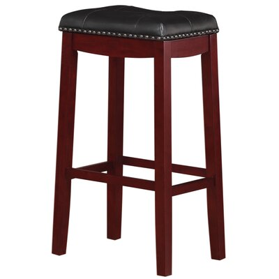 Counter 24 Quot 27 Quot Wood Backless Bar Stools You Ll Love In