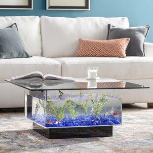Aquarium furniture design Aquarium Bedroom Claire 25 Gallon Coffee Table Aquarium Tank Homeadvisorcom Fish Tanks Aquariums Youll Love Wayfair
