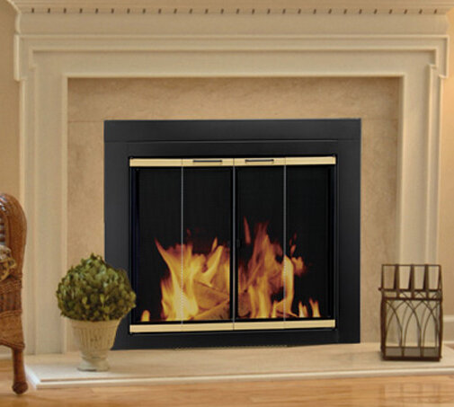 Amazing Find The Perfect Bifold Fireplace Screens Wayfair Home Interior And Landscaping Ologienasavecom