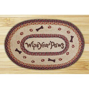 Beautiful Paw Print Rug | Wayfair BR88