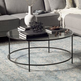 Gentil Round Glass Top Coffee Tables Youu0027ll Love | Wayfair
