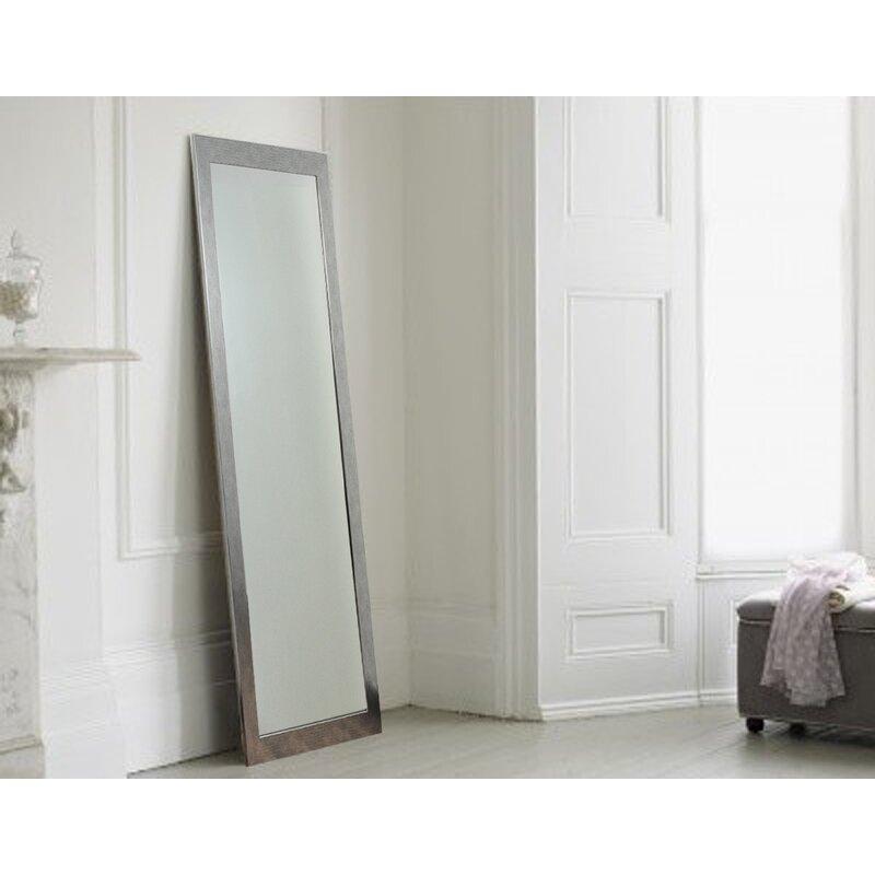 tall floor mirror. Stainless Grain Silver Tall Floor Mirror I