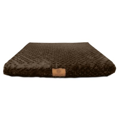 "Orthopedic Dog Pad Akc Color: Brown, Size: Medium (22"" W X 30"" D X 3"" H)"