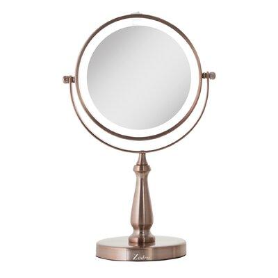 Next Generation Two Sided Led Lighted Swivel Makeup Shaving Mirror