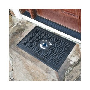 NHL - Vancouver Canucks Medallion Doormat