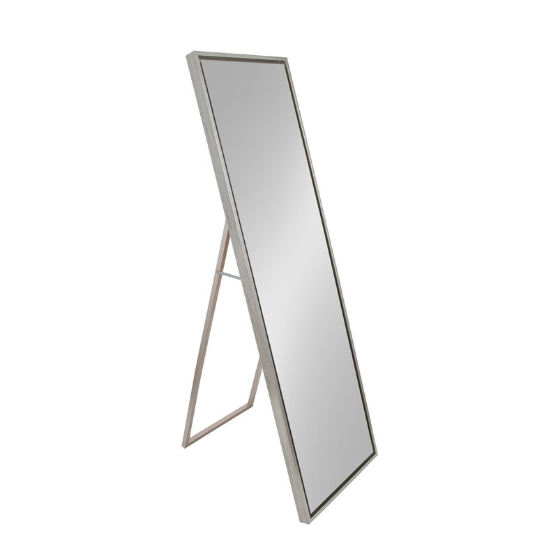Merveilleux Whitakers Wood Framed Easel Free Standing Full Length Mirror