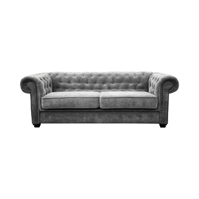 2 Seater Chesterfield Sofa Bed