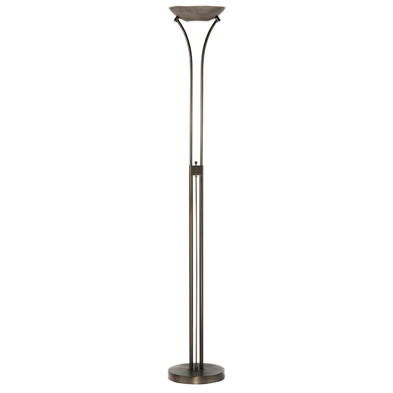 Flare 72 Torchiere Floor Lamp And Reviews Allmodern