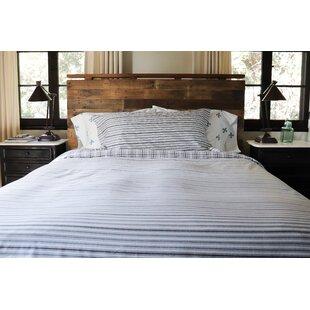 Weedman Ticking Stripe Reversible Comforter Set