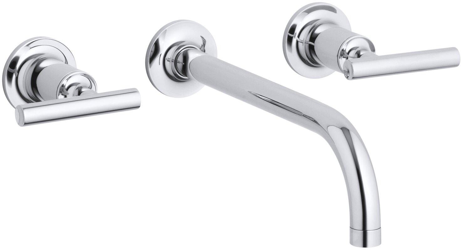 Purist Wall mounted Bathroom Faucet & Reviews | AllModern