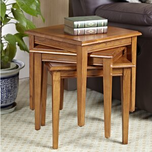 3 Piece Nesting Tables (Set of 3) by Leick Furniture