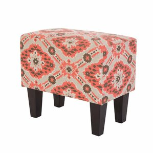 Handcrafted Ottoman by Glitzhome