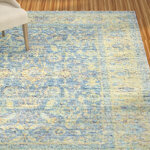 Doline Blue/Yellow Area Rug