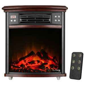 Portable Electric Fireplace Insert Only by e..