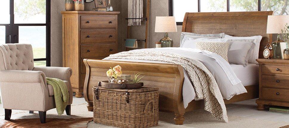Images bedroom furniture bedroom furniture birch lane for Spring hill designs bedroom furniture