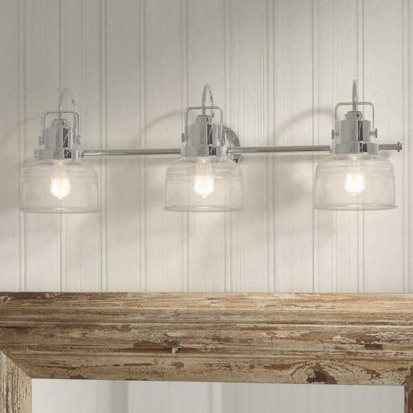 Beachcrest Home Gotha 3 Light Vanity Light Amp Reviews