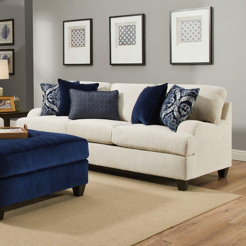 Three Posts Simmons Upholstery Hattiesburg Stone Sofa