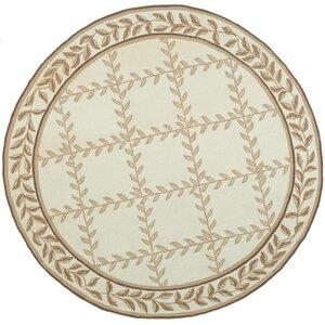 DuraRug Ivory/Beige Area Rug