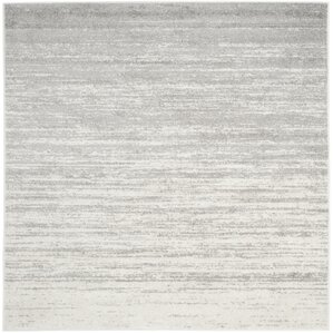Exceptional Busick Ivory/Silver Area Rug