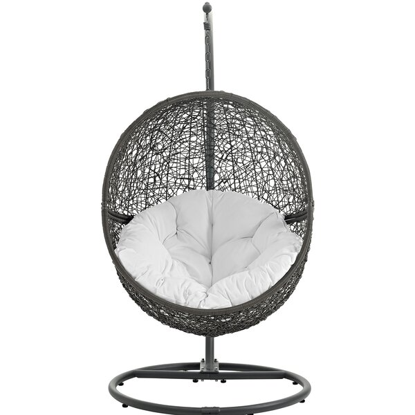 Charmant Modway Hide Swing Chair With Stand U0026 Reviews | Wayfair