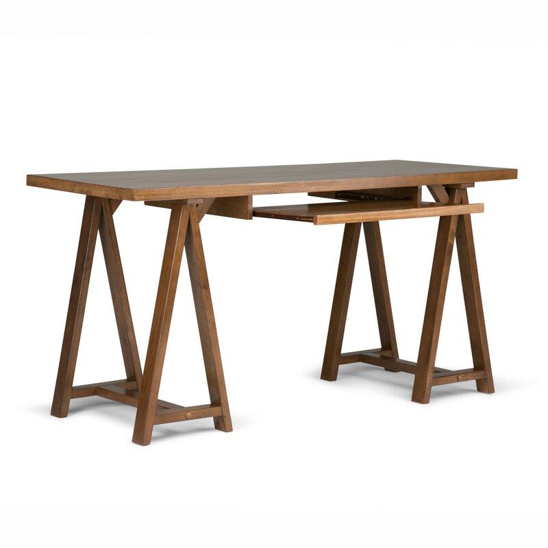 Cool Ine Solid Wood Computer Desk Download Free Architecture Designs Scobabritishbridgeorg
