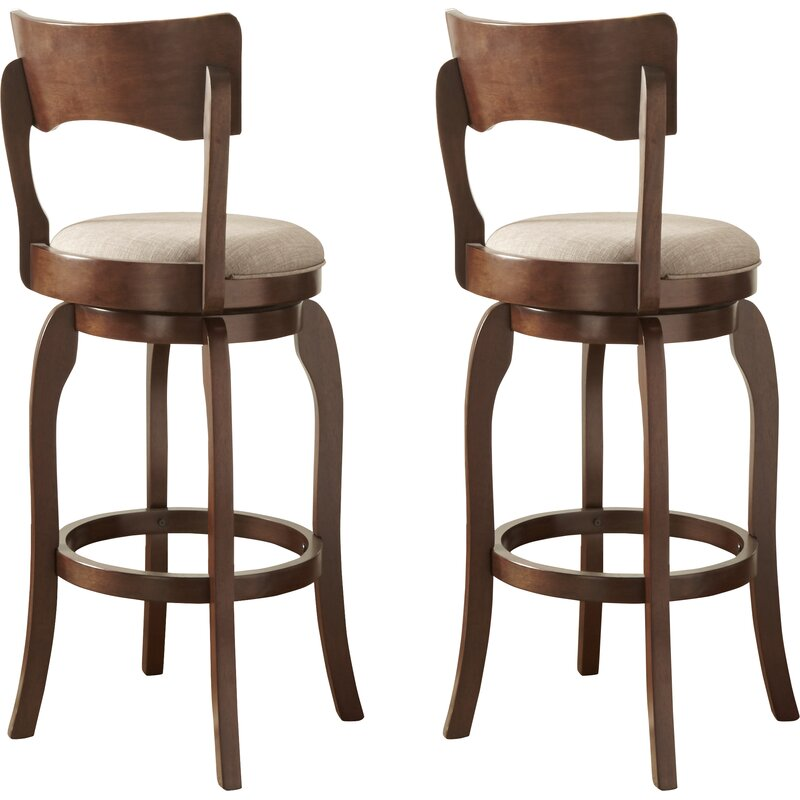 Three Posts Wescott Swivel Bar Stool Amp Reviews Wayfair