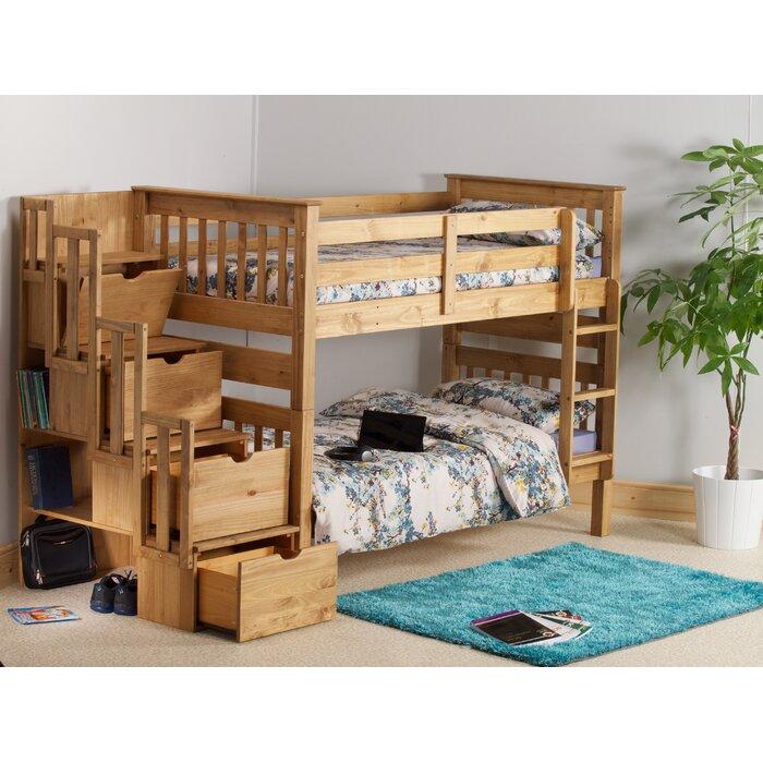 Just Kids Franky Single Bunk Bed Reviews Wayfair Ca