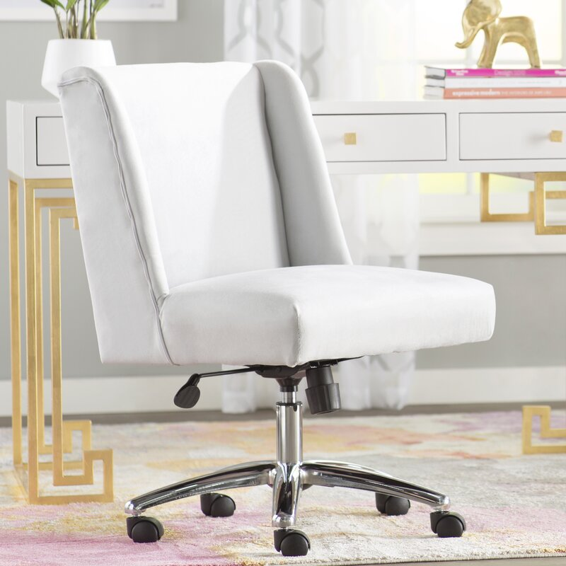 Ordinaire Aliana Decorative Mid Back Desk Chair