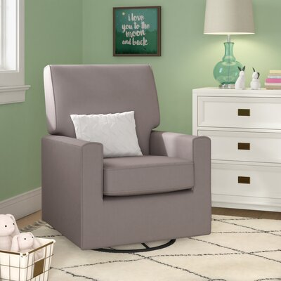 Mack & Milo Krista Swivel Glider Color: Gray