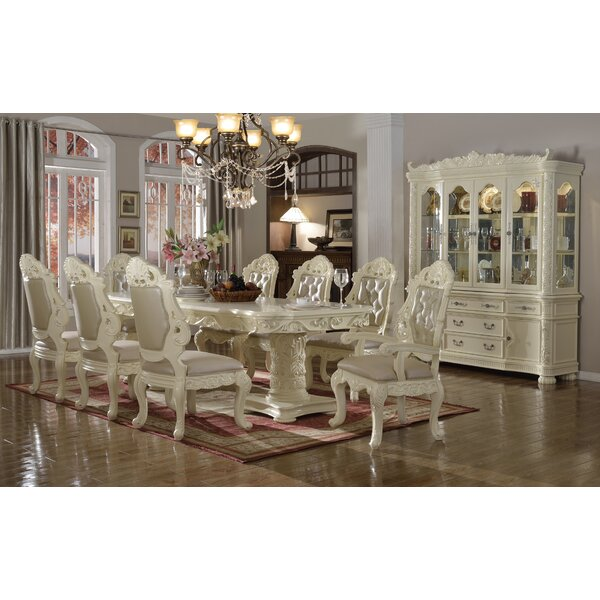 Rosdorf Park Palmer 9 Piece Dining Set U0026 Reviews | Wayfair