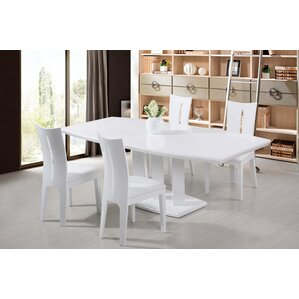 Agata Extendable Dining Table by At Home USA