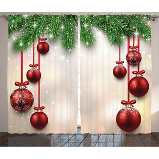 Christmas Curtains You Ll Love Wayfair