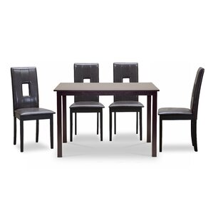 Calla 5 Piece Dining Set by Latitude Run