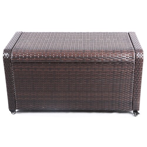 Clitheroe Weatherproof Outdoor Rattan Storage Box