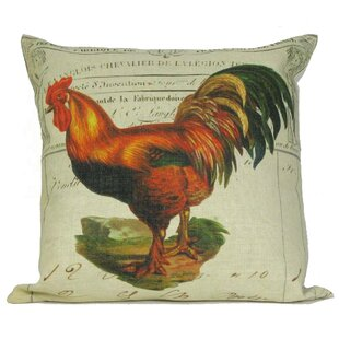 Fantastic French Country Rooster Pillows | Wayfair ZA91
