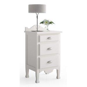 Nachttisch Laveno mit 3 Schubladen von dCor design