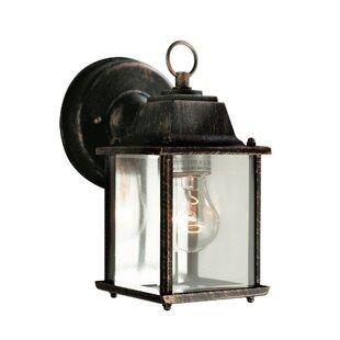 Ember 1-Light Outdoor Wall Lantern  sc 1 st  Joss u0026 Main & Outdoor Wall Lights u0026 Flush Mounts | Joss u0026 Main