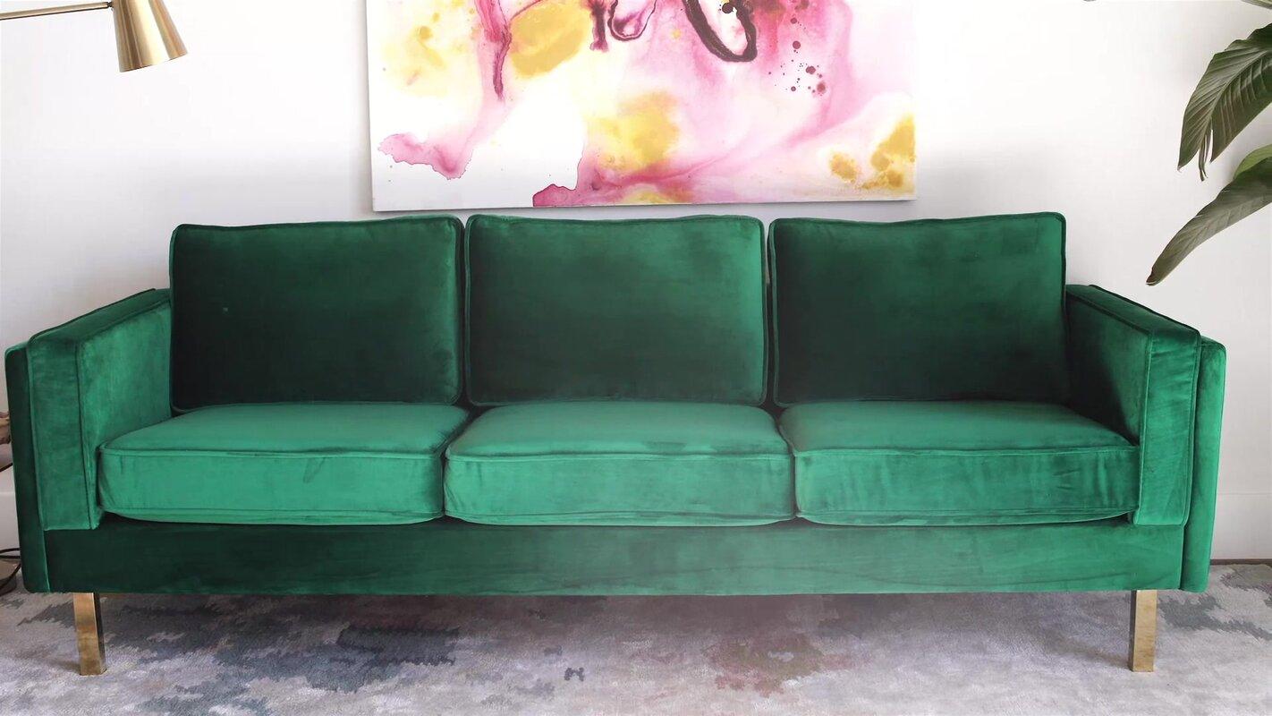 Charming Claybrooks Mid Century Modern Sofa