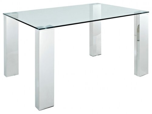 High Quality Rectangle Glass Pub Table