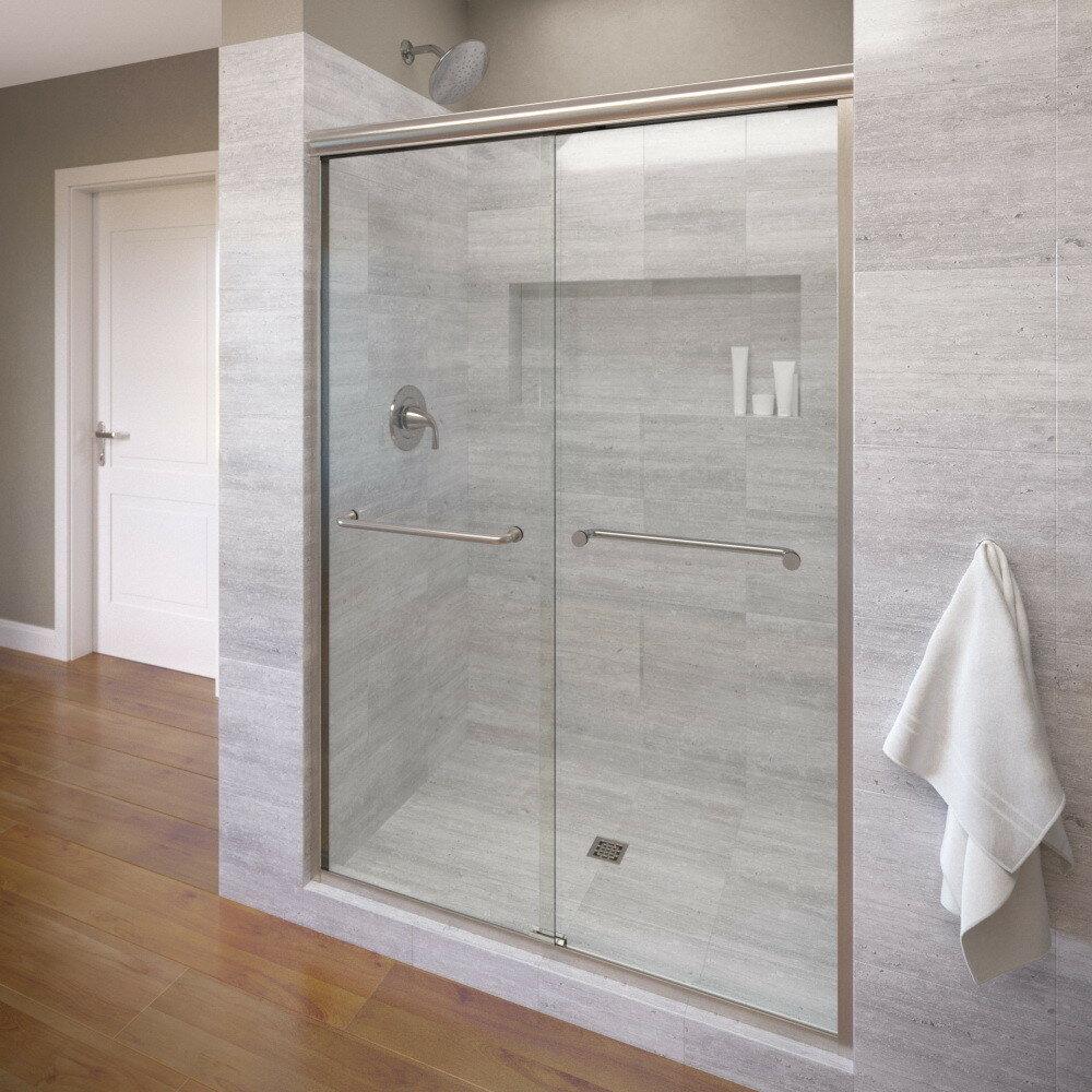 Basco Infinity 59 X 70 Frameless Bypass Sliding Shower Door