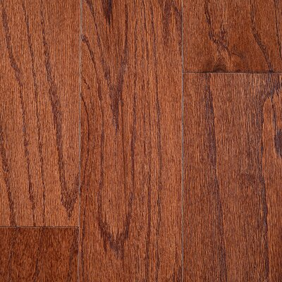 "Riga 3"" Engineered Oak Hardwood Flooring Branton Flooring Collection Finish: Red Oak Espresso"