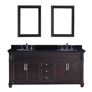 Save Kace 72 Double Bathroom Vanity
