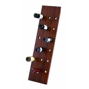 18 Bottle Hanging Wine Bottle Rack by Woodland Imports