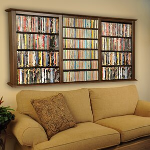 Triple Wall Mounted Storage Ra..
