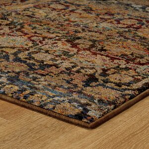 Rosalia Traditional Blue Area Rug