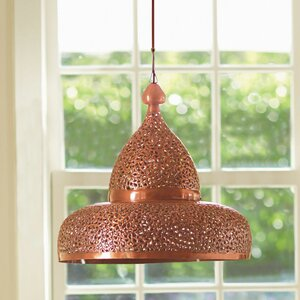 Lisse Open Bottom Hanging Lamp