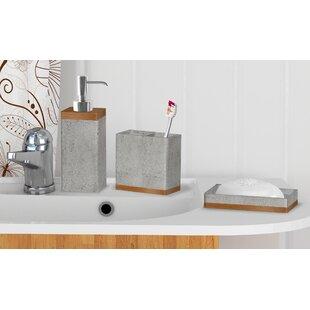 Stone Coloured Bathroom Accessories. Cerny Concrete Stone 3 Piece Bathroom Accessory Set Accessories You ll Love  Wayfair
