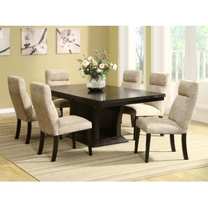 7 Piece Dining Set by Brayden Studio