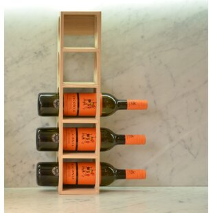 5 Bottle Tabletop Wine Rack Design